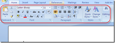 Learn Microsoft Word 2007 Step By Step: Getting Familiar With The New ...